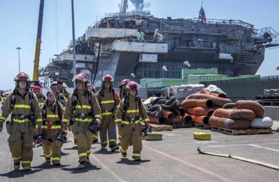 美海军曝严重短板:造船厂还无法快速修复战损舰船