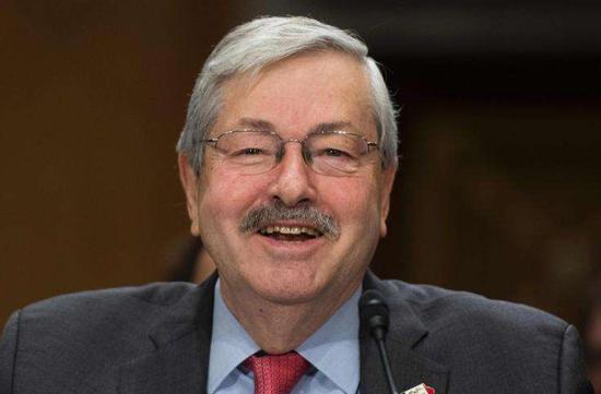 美媒:美国驻华大使布兰斯塔德将辞职
