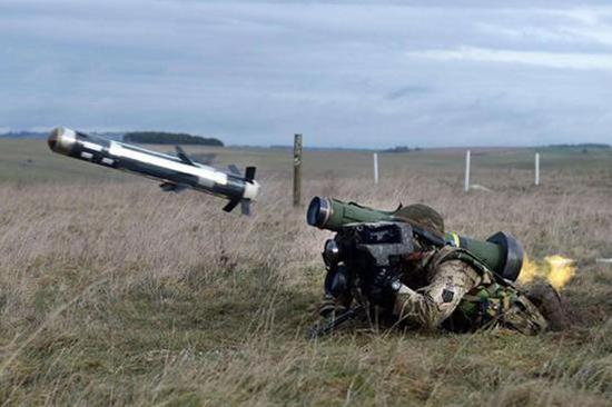 (此前美国销售给乌克兰的标枪导弹)