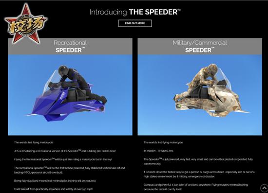 "SPEEDER其实就是可垂直起降的""摩托车"",GTA玩家对此非常熟悉"