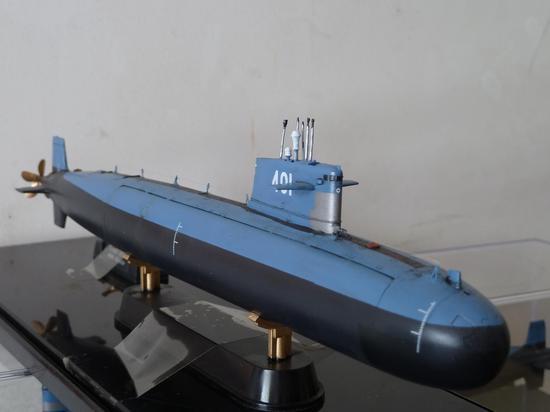 HOBBY BOSS出品 1/350比例 中国海军091型攻击核潜艇