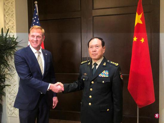 中美防长香会会晤:时间不长 但