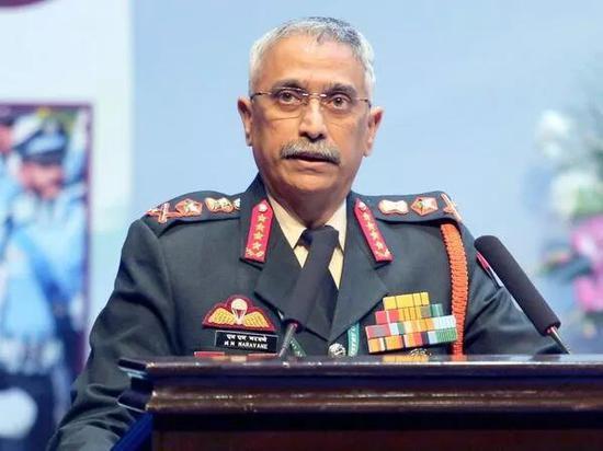 印陆军参谋长:确信可通过谈判解决中印边境对峙问题