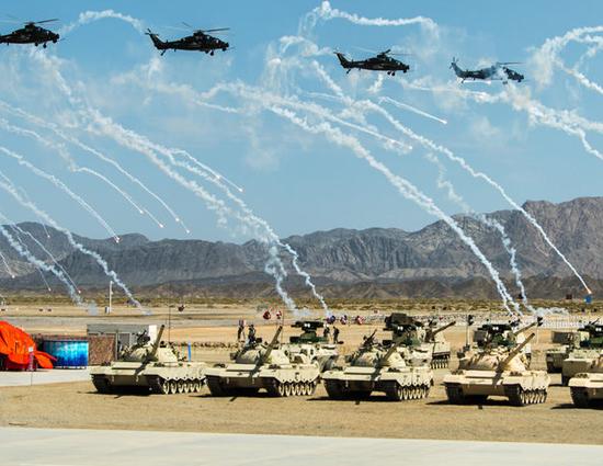 国防部谈国际军事比赛:锻炼部队 扩大