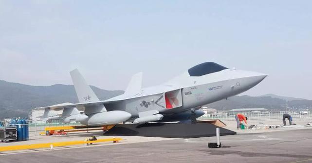 KFX战机模型