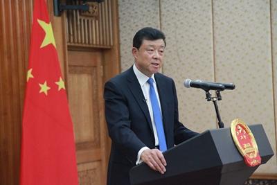 我国驻英国大使刘晓明