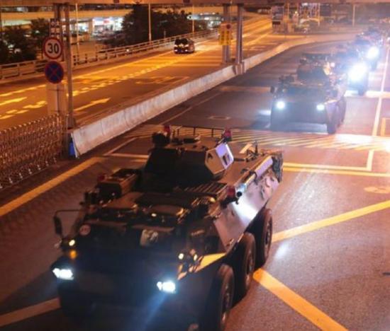 解放軍駐香港部隊組織第22次輪換