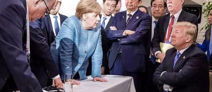 """特朗普G7峰会被""""围攻""""?"""