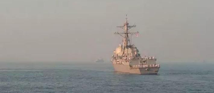 中国可效仿俄强势反制美舰?