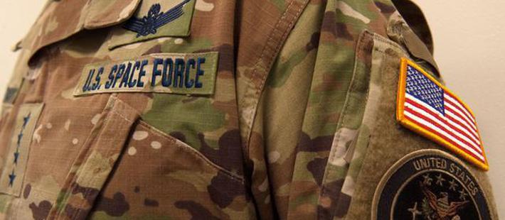美国太空部队成立新制服亮相 美网友吐槽:更像丛林部队