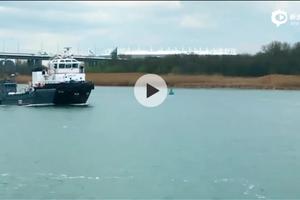 俄军里海船只经伏尔加河-顿河运河赴黑海