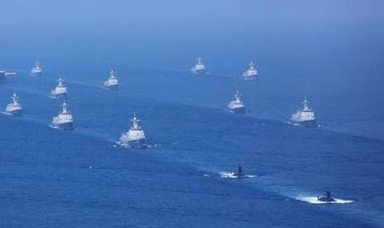 解放军1个月内三次在台海演习震慑