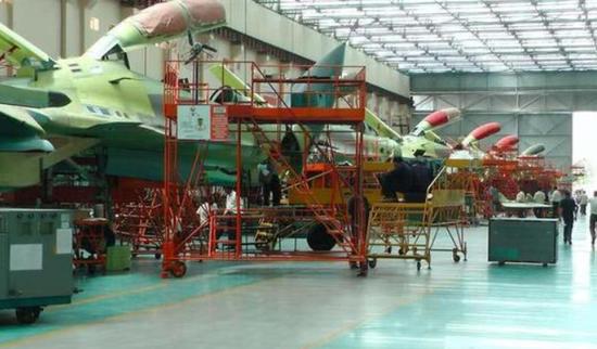苏-30MKI生产线