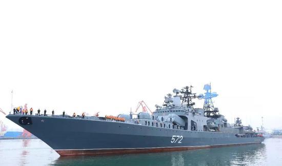 中俄军演:运8反潜机出动在黄海