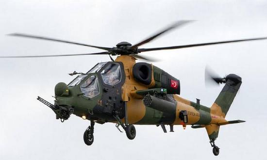 土耳其军用直升机在伊拉克被击落 机组人员全部遇难