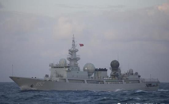 """中國神盾艦隊接近夏威夷""""自由航行"""