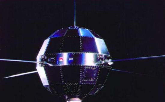 中国第一颗人造卫星东方红一号