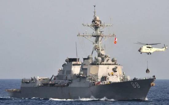 美国海军阿利伯克级驱逐舰普雷贝尔号