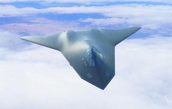 美空军发布的第六代战斗机概念图