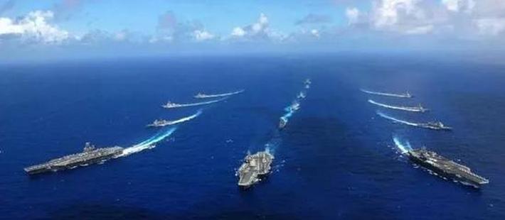 中国海军全核舰队初露锋芒!