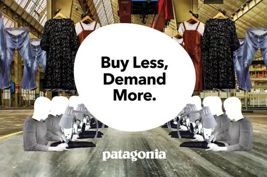 Buy Less, Demand More. patagonia