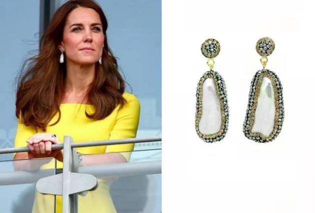 凯特王妃戴Soru耳环