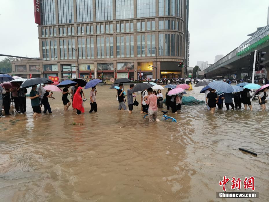 直击郑州特大暴雨