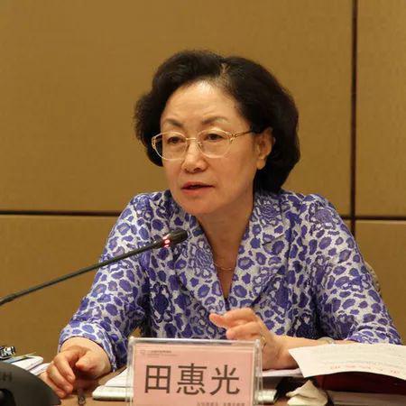 全国政协常委、民革中央副主席田惠光