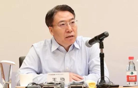 中国信保首席经济学家、国别风险研究中心主任 王稳(李颖/摄)