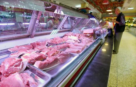 猪肉批发价连续三周回落 降幅超16%