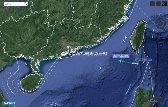 南海战略态势感知:美军高强度侦察南海,5架侦察机飞临