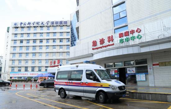 中国科学院大学深圳医院 供图