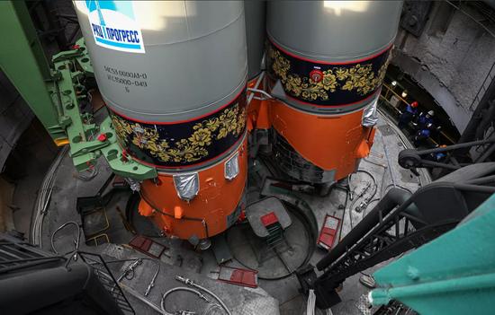 """俄罗斯""""进步MS-18""""号飞船成功发射升空"""
