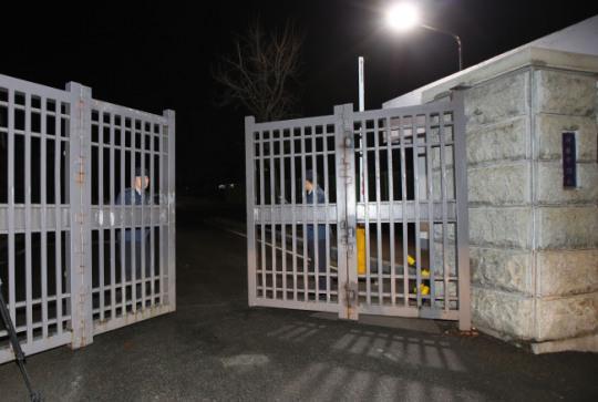 图为始尔的一处监狱。(韩联社)