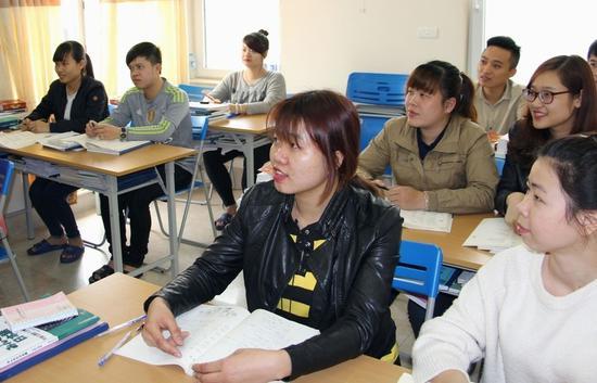 越南河内的日语学校(共同社)