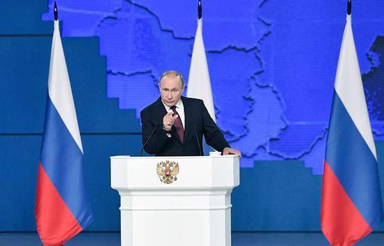 普京警告俄导弹将瞄准导弹发射地和部署决策地。(图:塔斯社)