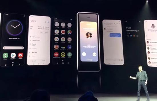▲三星折叠屏手机Galaxy Fold 21日发布,定价约合人民币1.34万元