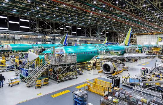 波音737MAX(图片来源:视觉中国)