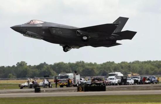 ▲资料图片:F-35战役机(新华社发)
