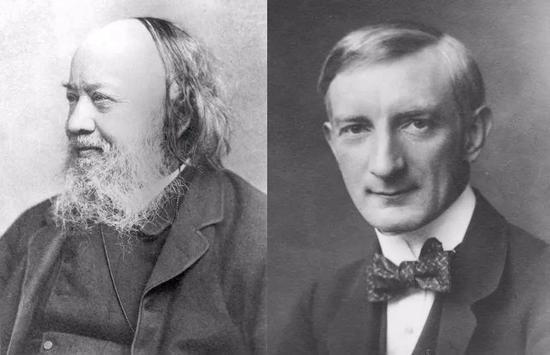 左:Edwin Chadwick爵士,律师右:William Beveridge勋爵,经济学家。