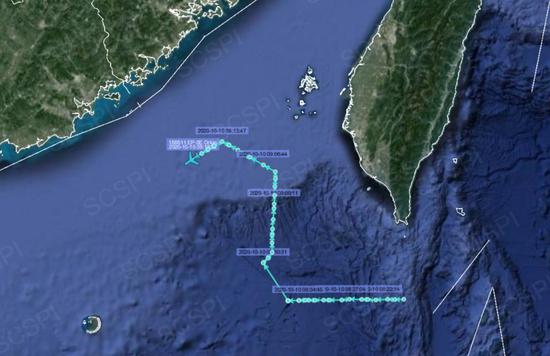台湾台海局势今天最新消息 中美军机同时现台湾空域