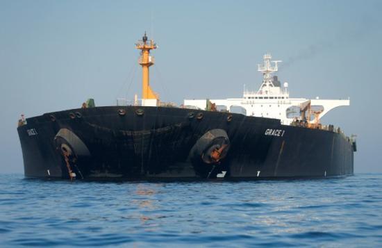 伊朗:获释油轮正准备驶入地中海(图)