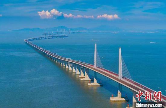 资料图:港珠澳大桥 朱泽辉 摄