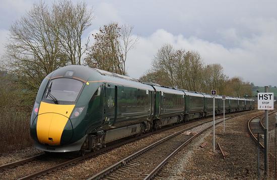 日立800型列车 图源:维基百科