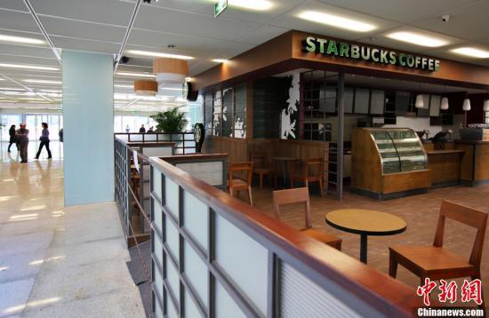 资料图:星巴克咖啡屋。中新社发 泱波 摄