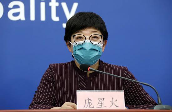 北京市疾病预防控制中心副主任 庞星火(图片来源:首都之窗)
