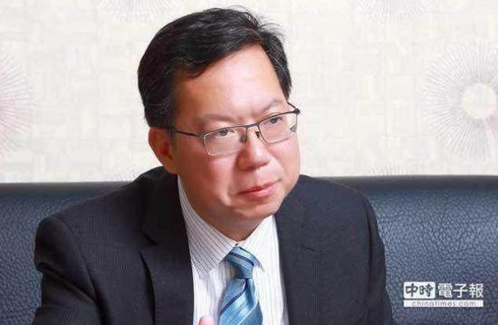 赖清德登记参选2020,全力支持蔡英文的郑文灿这样说。(图片来源:台湾《中时电子报》)