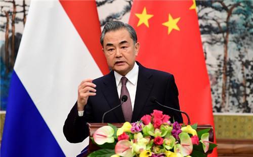 王毅:请收回你们的黑手 香港事务是中国内政