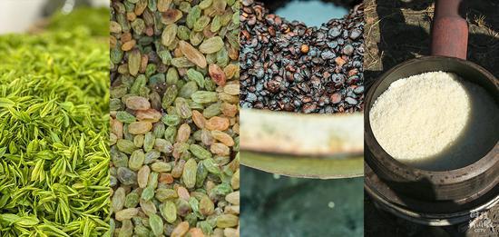 △中国地理标志产品包括安吉白茶、吐鲁番葡萄干、郫县豆瓣、五常大米等。