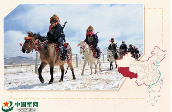 格斗俱乐部成员加入!西藏军区司令向高原新力量授旗插图(5)